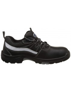 Allen Cooper 85027 Jungle Boot Black, DIP-PU Sole. ISI Marked