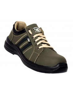 Allen Cooper AC-9006 Safety Ankle Boot, ISI Marked for IS:15298 Pt-2, Double Density DIP-PU Sole, 200 J Steel Toe Cap