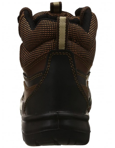 Allen Cooper Zipper Combat Boot AC-1095, Side Zip, 9 Eyelets, Directly Injected PU Sole, ISI Marked for IS:15298 Part-4